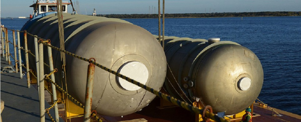 Port of Jacksonville handles heavy lift shipments of export cargo and import cargo in international trade.