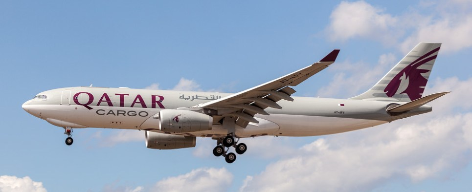 New Qatar Airlines Dallas route will allow carrier to cvarry more shipments of export cargo and import cargo in international trade.
