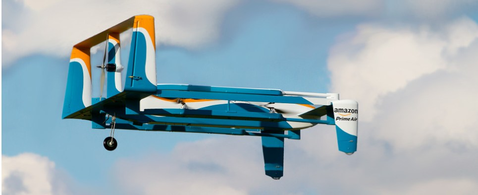 Amazon is moving forward with drone delivery program to handle the last mile of sme deliveries of import cargo and export cargo in international trade.