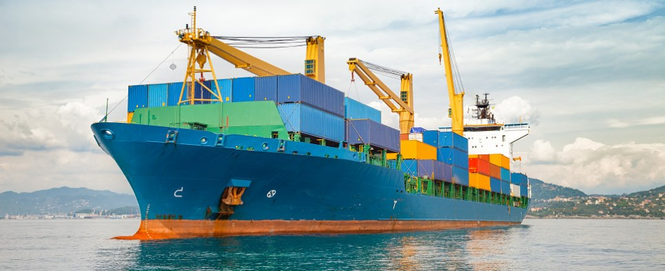 Merchant vessels carry US government shipments of export cargo and import cargo in international trade.