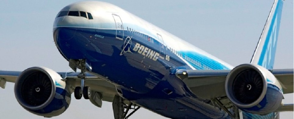 Boeing's sales record represents more shipments of export cargo and import cargo in international trade.