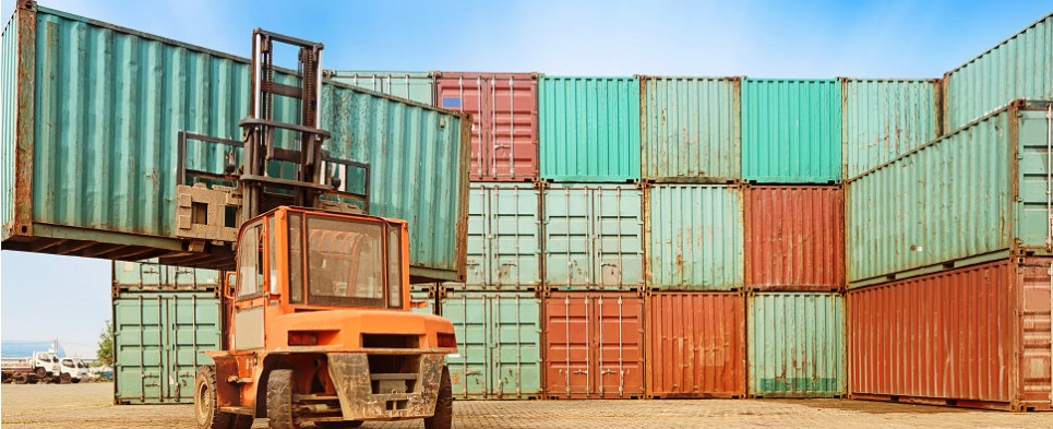 Regulations require weighing of container shipments of export cargo and import cargo in international trade.