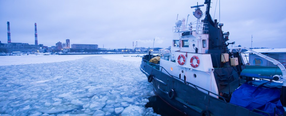 Icebreakers would facilitate more shipments of export cargo and import cargo in international trade in the Arctic region.