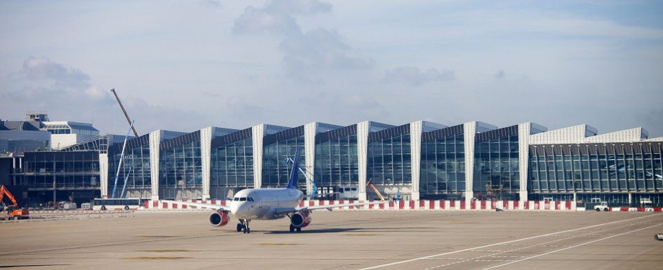 Brussels airport seeks to handle more shipments of export cargo and import cargo in international trade.