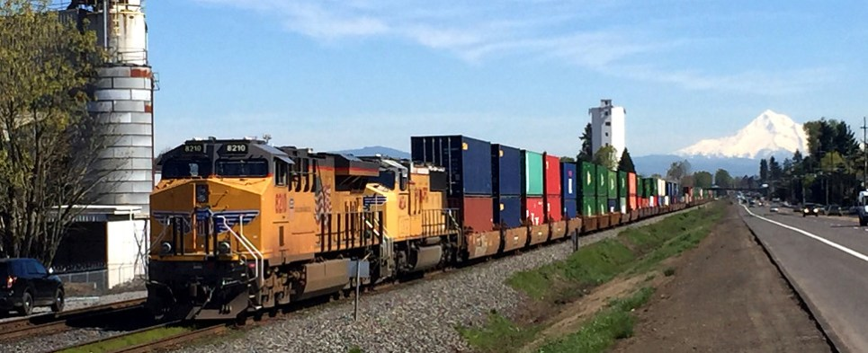 Rail-barge service allows Portland region to handle more shipments of export cargo and import cargo in international trade.
