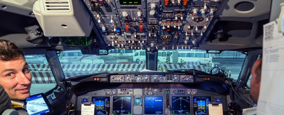 Strike vote by pilots of airlines that carry shipments of export cargo and import cargo in international trade.
