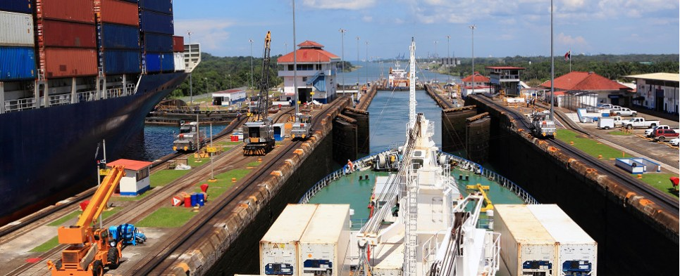 Expanded Panama Canal will handle more shipments of export cargo and import cargo in international trade.