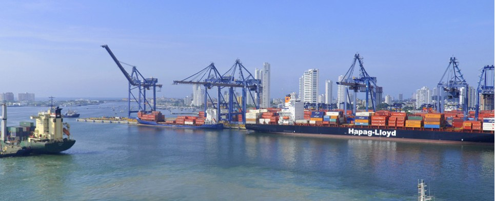 Port of Cartagena is using technology to manage shipments of export cargo and import cargo in international trade.