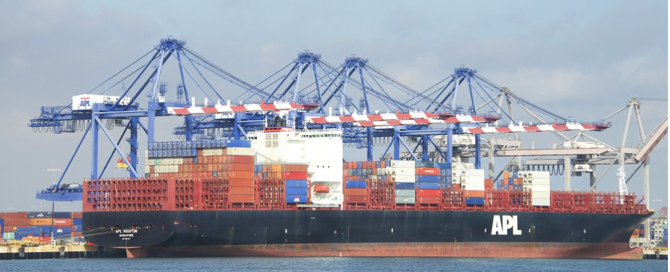 Port of Los Angeles expects to be handling more shipments of export cargo and import cargo in international trade.