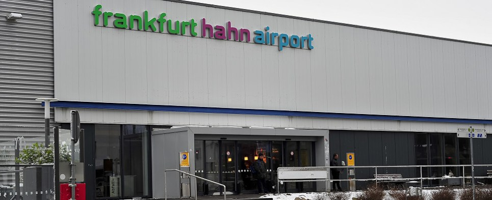 Frankfurt Hahn airport has been handling less shipments of export cargo and import cargo in international trade in recent years.