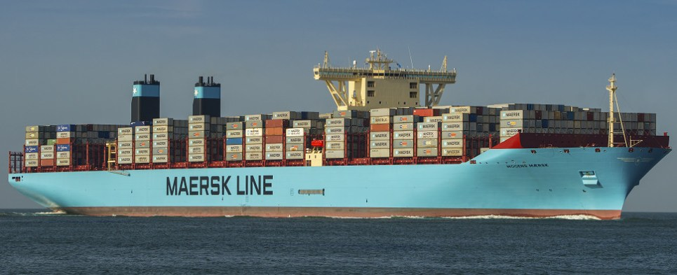 Maersk agreements seeks to reduce carbon footprint of shipments of export cargo and import cargo in international trade.