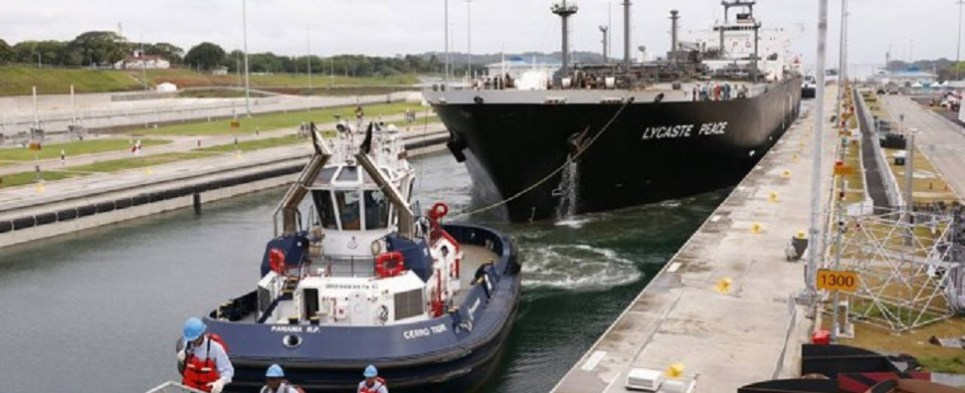 Expansion allows Panama canal to handle more shipments of export cargo and import cargo in international trade.