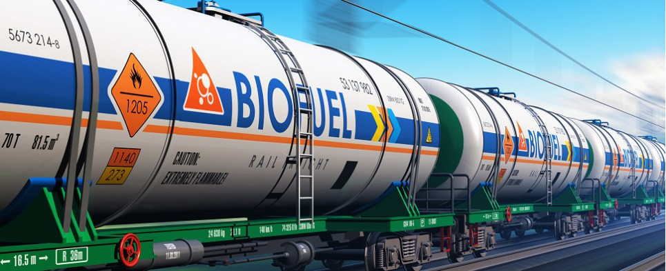 Study shows biodiesel more environmentally friedly for shipments of export cargo and import cargo in international trade.