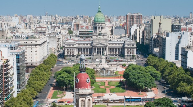 Argentina is trying to promote investment and more shipments of export cargo and import cargo in international trade.