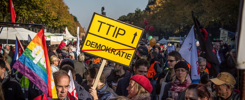 TTIP would govern shipments of export cargo and import cargo in international trade between the US and the EU.