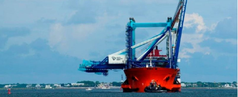 New cranes will allow port of charleston to handle more shipments of export cargo and import cargo in international trade from larger vessels.