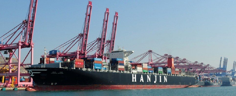 Hanjin receivership jeopardizing shipments of export cargo and import cargo in international trade.