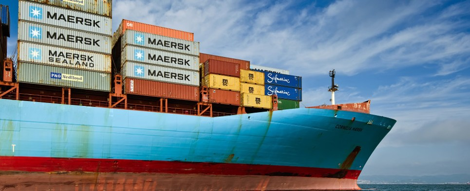 Maersk expects reorganization will enable it to handle more shipments of export cargo and import cargo in international trade.
