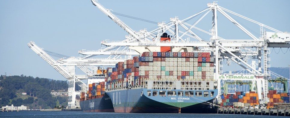Three Japanese carriers care merging oeprations that carry container shipments of export cargo and import cargo in international trade.