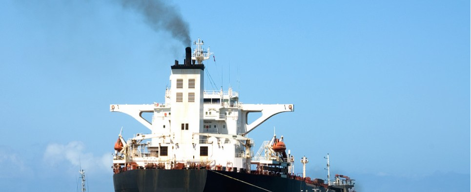 Plan to cut back C)2 emissions of vessels that carry shipments of export cargo and import cargo in international trade.