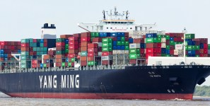 Ocean cotnainer carriers can expect some profits next year from their carrige of shipments of export cargo and import cargo in international trade.
