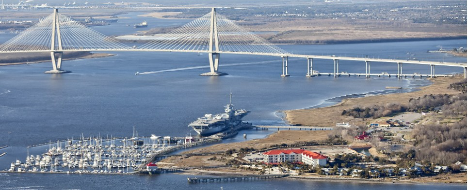 Charleston harbor deepening will accommodate more shipments of export cargo and import cargo in international trade.