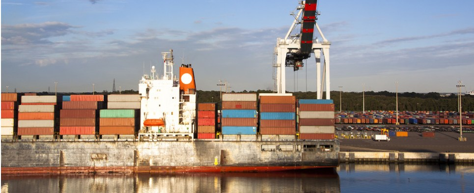 JAXPORT is moving more shipments of export cargo and import cargo in international trade.
