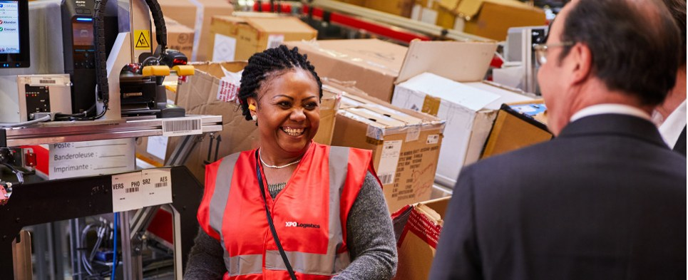 XPO is helping Sarenza with shipments of export cargo and import cargo in international trade.