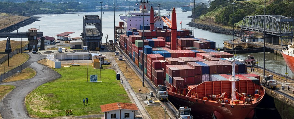 Third highest volume ever of shipments of export cargo and import cargo in international trade transited the Panama Canal in FY 2016.