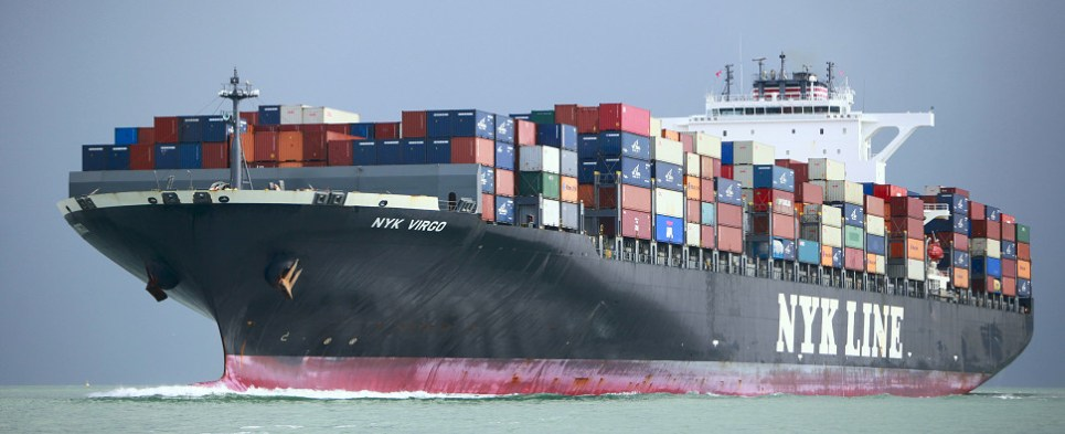 Moody's downgraded rating of NYK, an ocean carrier of shipments of export cargo and import cargo in international trade.