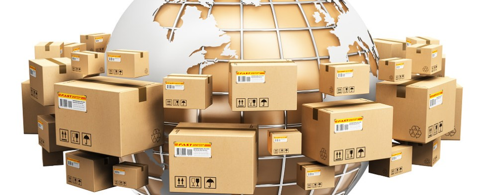 New packaging material for shipments of export cargo and import cargo in international trade.