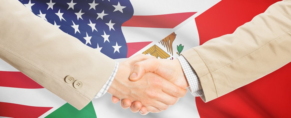 Mexico is one of the largest trading partners of the US for shipments of export cargo and import cargo in international trade.