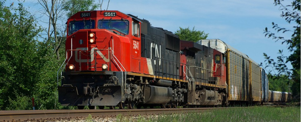Rail will be carrying more shipments of export cargo and import cargo in international trade.