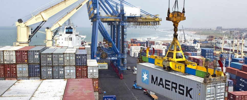 Maersk Line will be carrying shipments of export cargo and import cargo in international trade to the Iranian port of Bushehr.