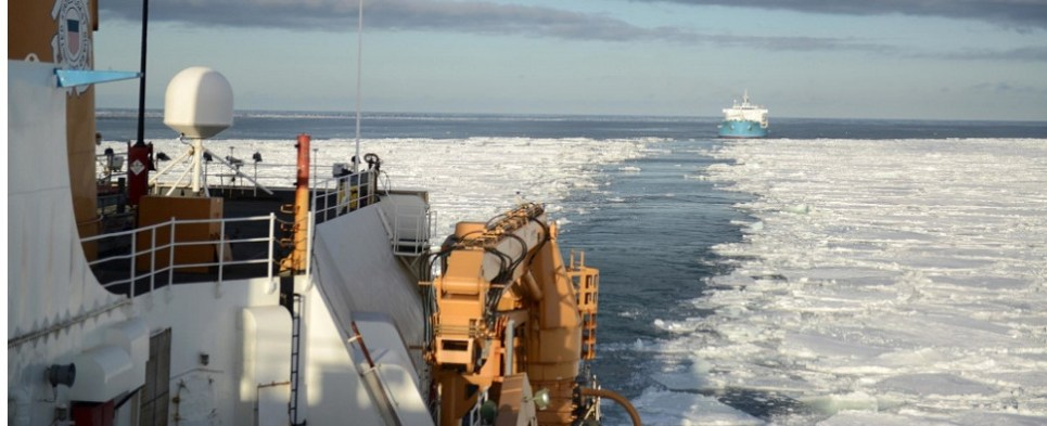 Icebreakers importanmt for Arctic shipments of export cargo and import cargo in international trade.