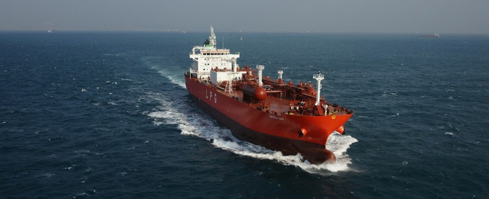 Christening of two ships will allow more LPG shipments of export cargo and import cargo in international trade.