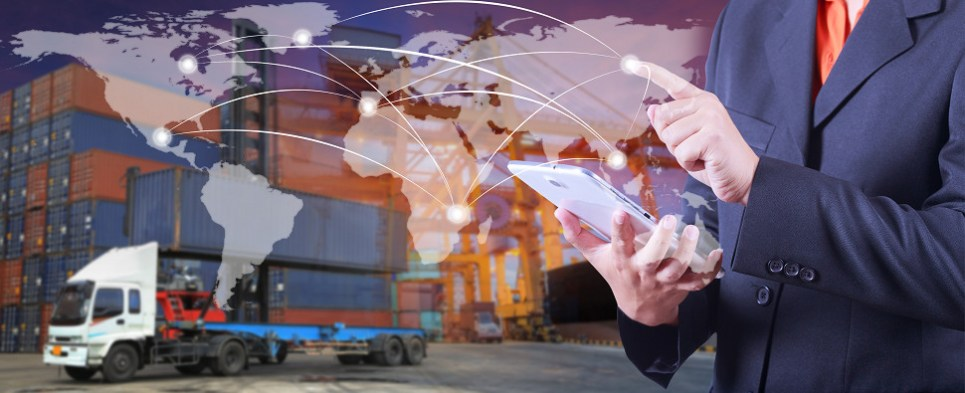 Online is capturing more shipments of export cargo and import cargo in international trade.