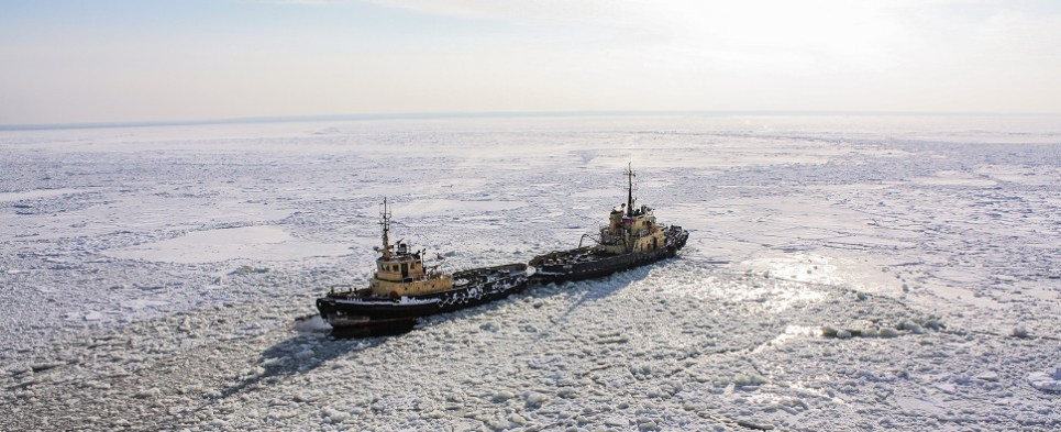 US and Canada cooperating on icebreaker that will facilitate Arctic shipments of export cargo and import cargo in international trade.