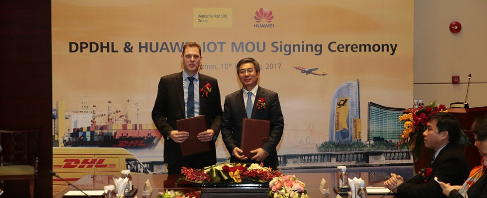 Partnership to apply IoT to shipments of export cargo and import cargo in international trade.
