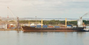 Safety issues were discovered on bulk carries carrying shipments of export cargo and import cargo in international trade.