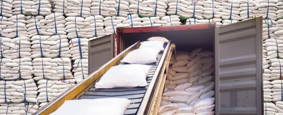 US and Mexico attempt to resolve differences osugar shipments of export cargo and import cargo in international trade.