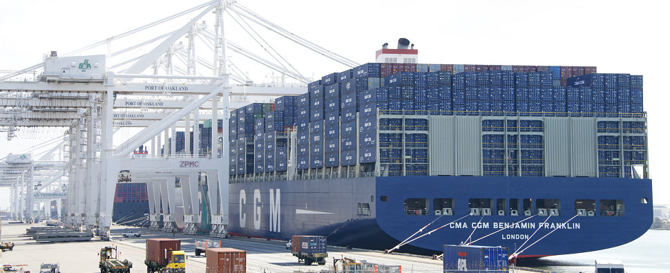 Trump's policies will affect shipments of export cargo and import cargo in international trade.