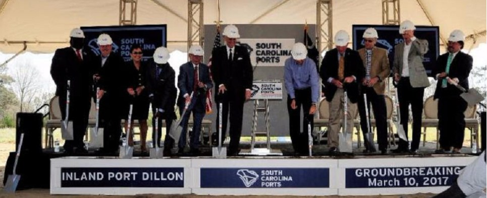 New inland facility will allow South Carolina ports to handle more intermodal shipments of export cargo and import cargo in international trade.