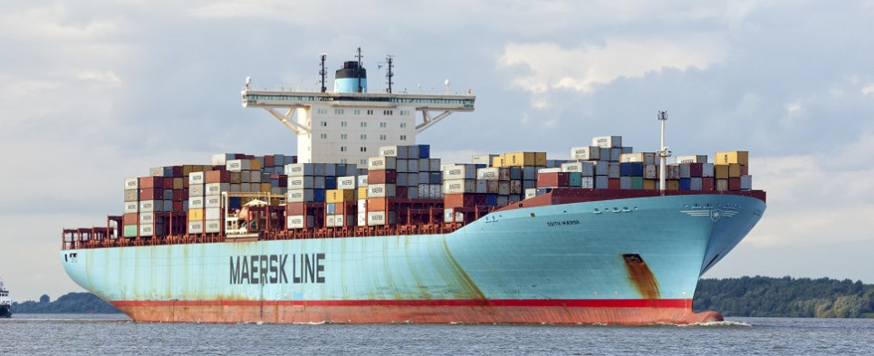Maersk is digitizing its carriage of shipments of export cargo and import cargo in international trade.