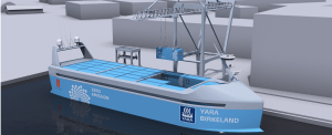 WATCH: First Autonomous and Zero-Emissions Containership