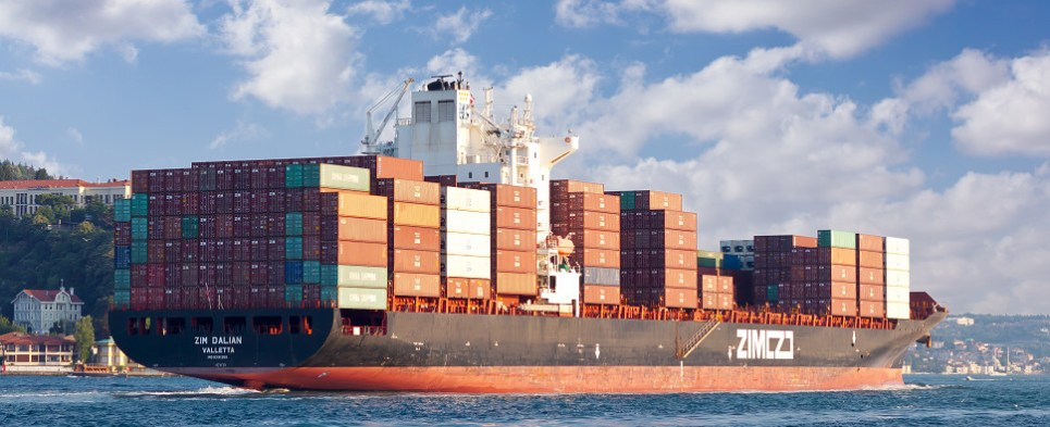 ZIM is carrying more shipments of export cargo and import cargo in international trade.