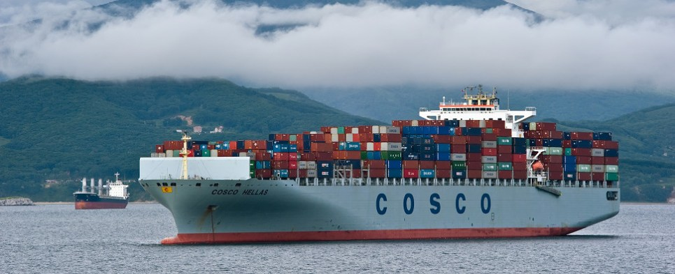 Arctic route could be important for shipments of export cargo and import cargo in international trade.