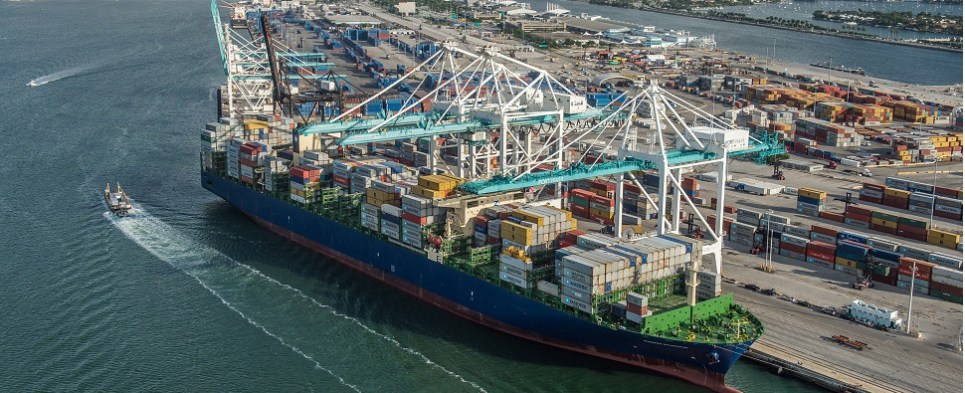 Infrastructure investments allow PortMiami to handle more shipments of export cargo and import cargo in international trade.