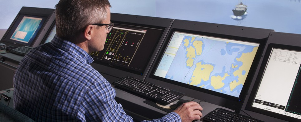 Autonomous vessels will be used to carry shipments of export cargo and import cargo in international trade.
