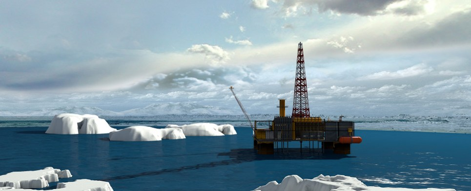 Arctic drilling could boost shipments of export cargo and import cargo in international trade.